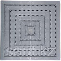 Модульные полимерные плиты, серый