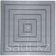 Модульные полимерные плиты серый