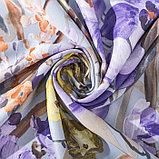 """Штора портьерная Этель """"Акварель"""" цв.фиолетовый, 145*265 см, пл. 210 г/м2, 100 п/э, фото 2"""