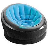 Кресло надувное, 112 х 109 х 69 см, цвета МИКС, 68582NP INTEX, фото 2