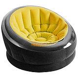 Кресло надувное, 112 х 109 х 69 см, цвета МИКС, 68582NP INTEX, фото 3