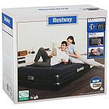 Кровать надувная Tritech Airbed Queen, 203 x 152 x 46 см, со встроенным электронасосом, 67403 Bestway, фото 5