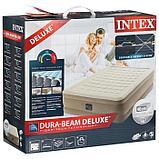 Кровать надувная Ultra Plush Bed, 152 х 203 х 46 см, встроенный насос, 220 В, 64428NP INTEX, фото 2