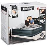 Кровать надувная Fortech, 203 x 152 x 46 см, со встроенным электронасосом, 69075 Bestway, фото 7