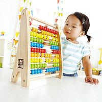 Цветные деревянные счеты Hape E0412