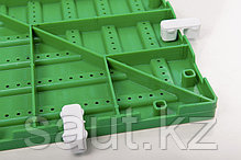 Модульные полимерные плиты, зеленый, фото 3