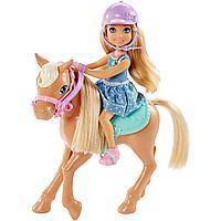 Кукла Barbie «Челси и пони»,15 см