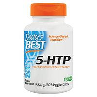 5-HTP, Doctors s best, Гидрокситриптофан, 100 мг, 60 капсул