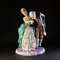Скульптурная композиция «Приглашение на танец»