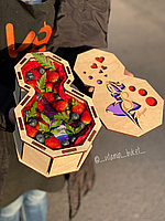 Подарочный набор с клубникой