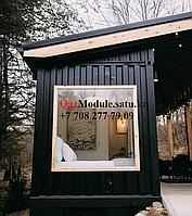 Дизайнерские модульные дома из контейнеров в стиле лофт