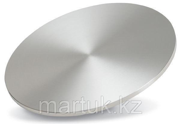 Мишень Дисульфид Вольфрама (WS2, Tungsten disulfide), круглая, 101 мм, толщина 6 мм, чистота 99,9%