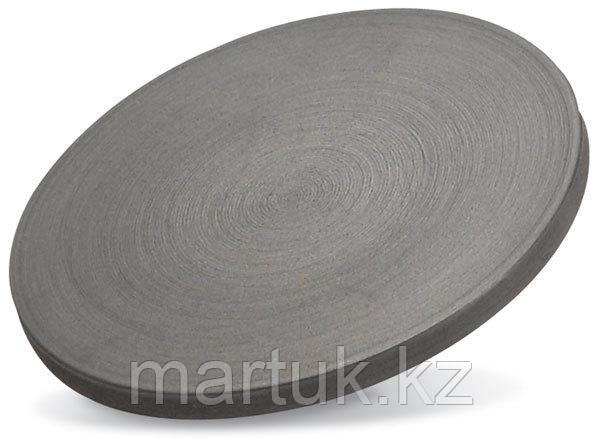 Мишень Сульфид Молибдена (MoS2, Molybdenum sulfide), круглая, 101 мм, толщина 6 мм, чистота 99,9%