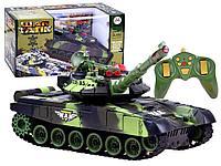 Детский боевой гусеничный танк War Tank на радиоуправлении.