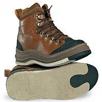 Ботинки для вейдерсов RAPALA WADING BROWN, размер 42