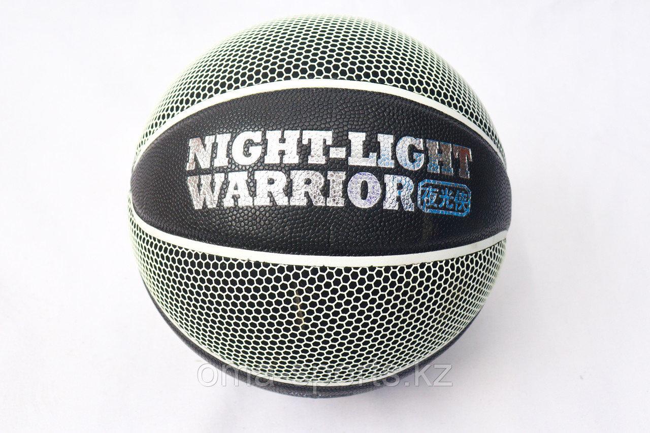 Баскетбольный мяч VEGASTAR черн. 906-07