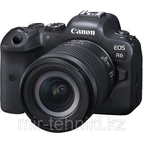 Фотоаппарат Canon EOS R6 kit RF 24-105mm f4-7.1 STM + Mount Adapter Viltrox EF-R2