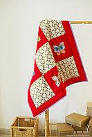 Одеяло детское в технике пэчворк Радужное лето размер 100*100 ручная работа