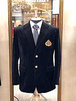 Мужской классический пиджак с нанесением логотипа