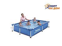 Каркасный бассейн BestWay 56401 (221*150*43 см, на 1800 литров)