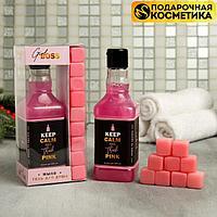 Набор Sweet girl boss: гель для душа, мыло-камни 9 шт.