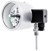 Термометры биметаллические коррозионностойкие с электроконтактной приставкой Росма