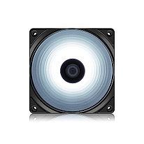 Кулер для компьютерного корпуса Deepcool RF 120W 120 мм LED White Molex Чёрный
