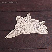 Доска для выжигания «Самолёт»