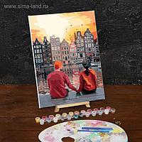 Картина по номерам на холсте с подрамником «Романтичный вечер», 40х30 см