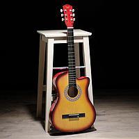 Гитара акустическая санберст, 6-ти струнная 97см