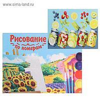 Картина по номерам 30×40 см в коробке «Лимонные консервы»