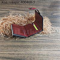 Картхолдер держатель для карт и визиток с RFID защитой экокожа KH-328 бордовый