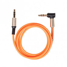 RITMIX RCC-247 Кабель аудио сигнала AUX джек 3.5/джек 3.5, 1м, Orange