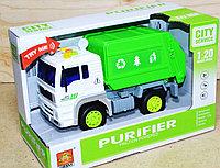 WY521ABC Машина мусоровоз Purifier 4 функции 24*16, фото 1