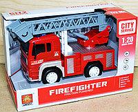 WY 551ABC Пожарная техника Fire Fighter 4 функции 23*16, фото 1