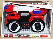 A5577-2 Спец техника 3 вида на батарейках большие колеса 27*17, фото 3