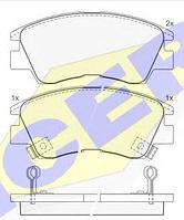 Тормозные колодки GROSS-010(REMSA 275.02)