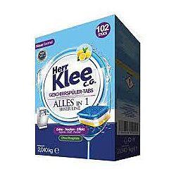 Klee Silver Line таблетки для посудомоечных машин 102шт