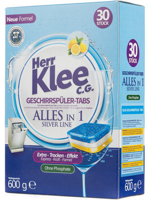 Klee Silver Line таблетки для посудомоечных машин 30шт, фото 2