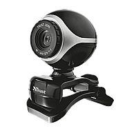 Веб-камера Trust Exis Webcam Black-Silver
