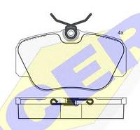 Тормозные колодки GROSS-012(REMSA 284.00)