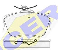 Тормозные колодки GROSS-165(REMSA 445.02)