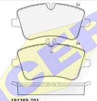 Тормозные колодки KEBONO-CD-8407 (REMSA 768,00)