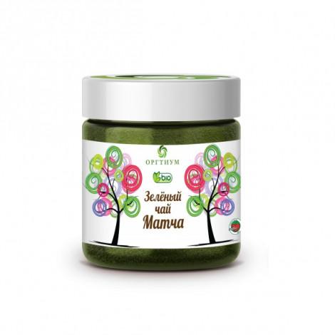 Зеленый чай Матча 100 гр, Оргтиум, для энергии