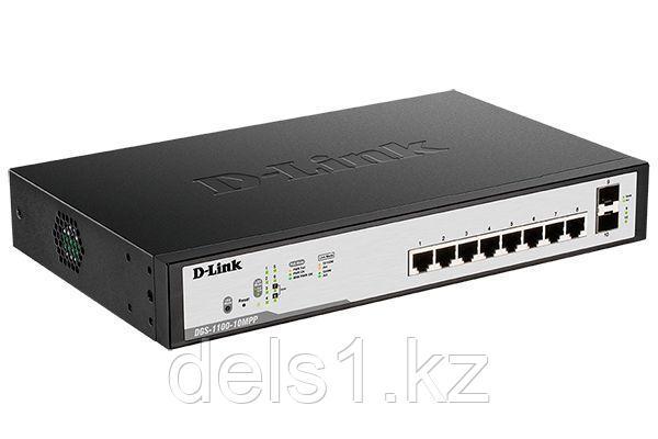 Настраиваемый коммутатор  D-link DGS-1100-10MPP