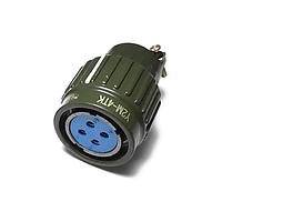 Вилка кабельная 4х-пиновая Y2M-4TJ