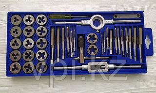 Набор метчиков, плашек из 40 предметов, ST-DP-40, Total Tools