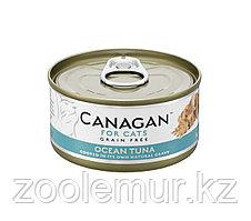CANAGAN Полнорационный консервированный корм для кошек ОКЕАНИЧЕСКИЙ ТУНЕЦ 75г