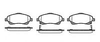 Тормозные колодки REMSA 1046.02-AF