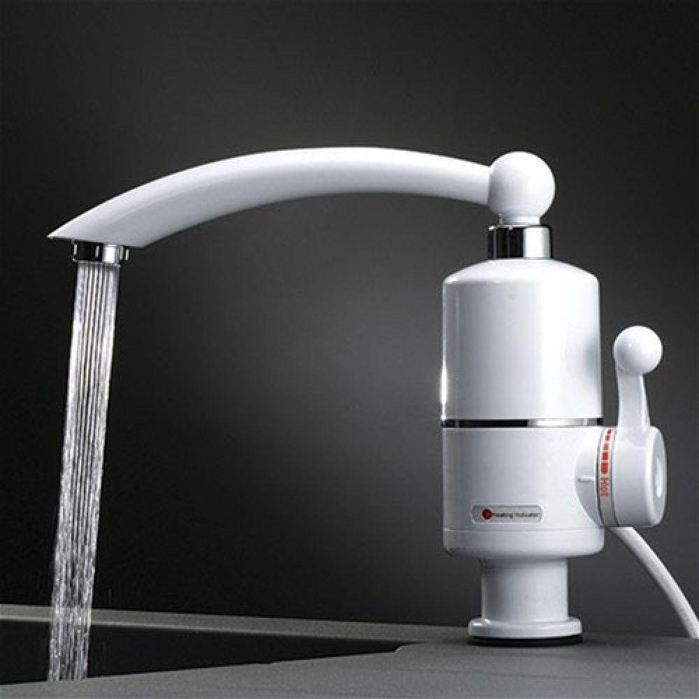 Проточный электрический водонагреватель Instant Electric Heating Water Faucet - фото 2